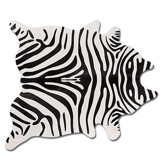 Natural by Lifestyle Brands Togo Animal Print Cowhide Rug (6'x7')
