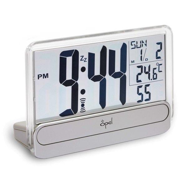 Opal Big Digit Alarm Clock with See Through Display