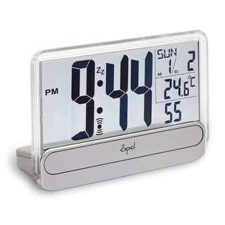 Opal Big Digit Alarm Clock with See Through Display