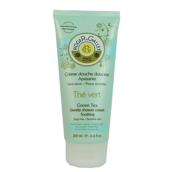 Roger & Gallet Green Tea Women's 6.6-ounce Gentle Shower Cream