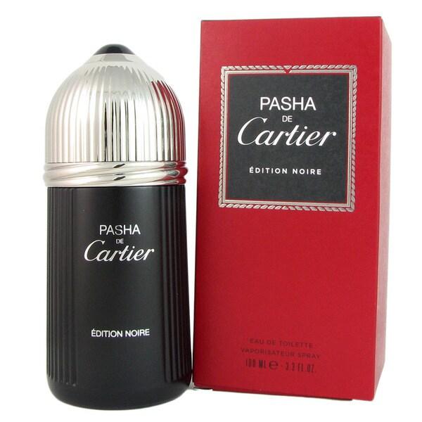 Cartier Pasha de Cartier Edition Noire Men's 3.3-ounce Eau de Toilette Spray