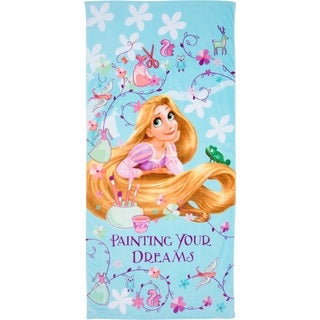 Princess Tangled Cotton Beach Towel