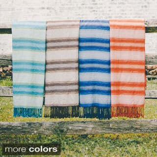 Lush Decor Zelei Rayon from Bamboo Throw Blanket