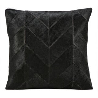 kathy ireland Black 20-inch Pillow by Nourison