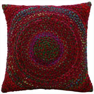 kathy ireland Wine 16 x 16-inch Pillow by Nourison