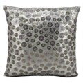 kathy ireland Pewter Grey 16-inch Pillow by Nourison