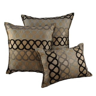 Sherry Kline Knots Combo Throw Pillows (Set of 3)