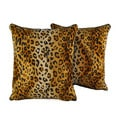 Sherry Kline Cheetah 20-inch Throw Pillows (Set of 2)