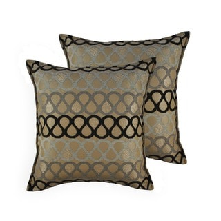 Sherry Kline Knots 20-inch Throw Pillows (Set of 2)