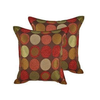 Sherry Kline Courtyard 20-inch Throw Pillows (Set of 2)