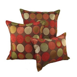 Sherry Kline Courtyard Combo Throw Pillows (Set of 3)