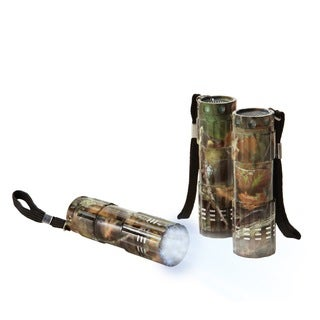 Black Series 9 LED Camouflage Flashlights (Pack of 3)