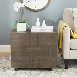 Safavieh Mitch Dark Brown Cabinet