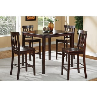 Roscof 5-piece Rich Brown Dining Room Set