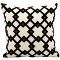 kathy ireland by Nourison Ivory Diamond 18 Throw Pillow