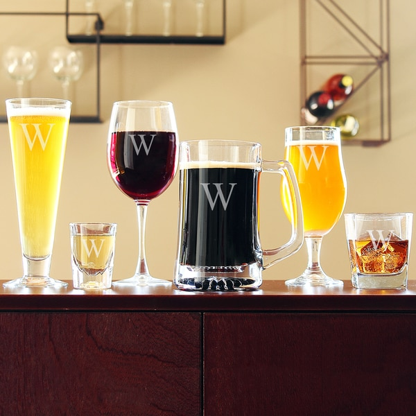 Personalized 6-piece Party Glassware Set