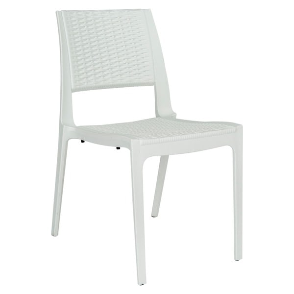 Somette Elm Modern Indoor/ Outdoor Dining Chair