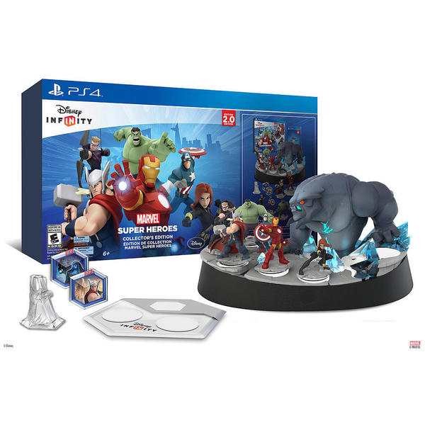 PS4 - Disney INFINITY: Marvel Super Heroes (2.0 Edition) Collector's Edition 13594479