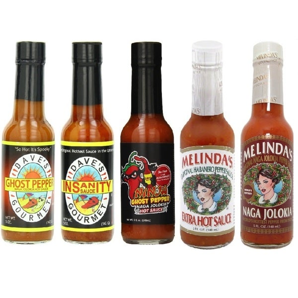 Gluten Free Hot Sauce Assortment (Set of 5)
