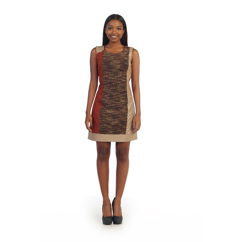 Overstock.com Hadari Women's Colorblocked Casual Dress at Sears.com
