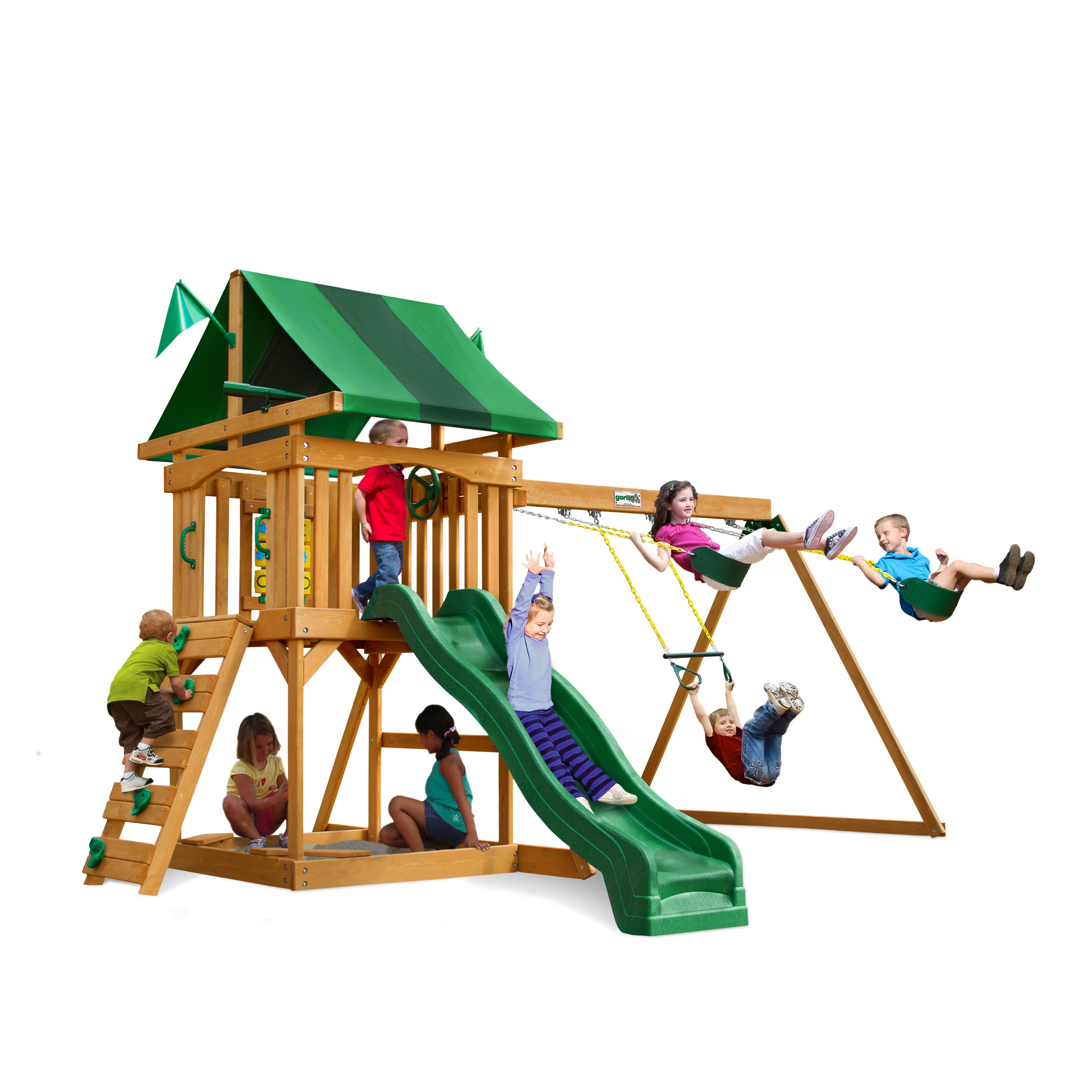 Gorilla PlaySets Cadence Swing Set at Sears.com