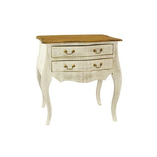 Madilyn 2-drawer Distressed White Bureau