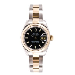Pre-Owned Rolex Women's Datejust Steel and Gold Oyster Watch