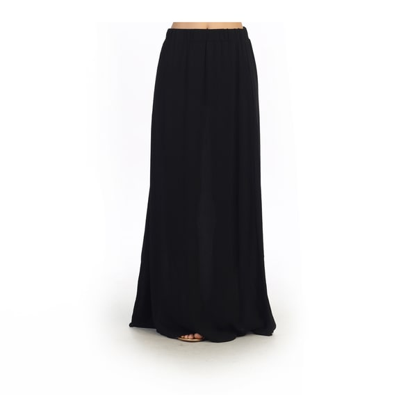Hadari Juniors Black Maxi Skirt