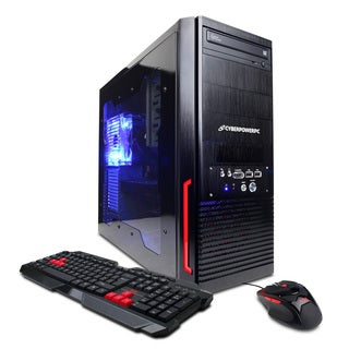 CyberPowerPC Gamer Xtreme GXi220OS with Intel Core i3-2100 3.1GHz Gaming Computer
