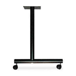 Lorell LLR60683 Black Training Table Base