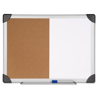 Lorell LLR19291 Dry Erase/ Cork Board Combination