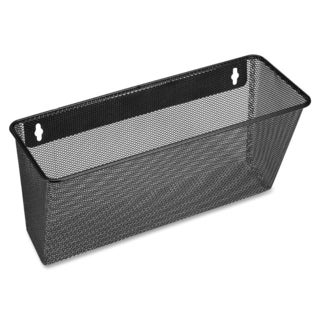 Lorell LLR84144 Black Mesh/ Wire Wall Pocket