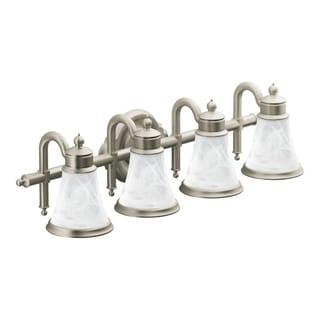 Waterhill 4-globe Brushed Nickel Bath Lighting