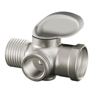 Moen Brushed Nickel Shower Arm Diverter