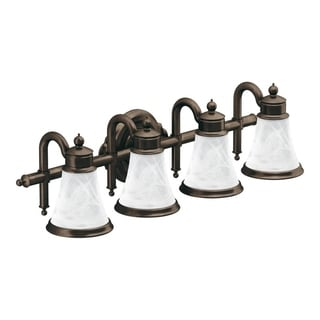 Waterhill 4-globe Oil Rubbed Bronze Bath Lighting