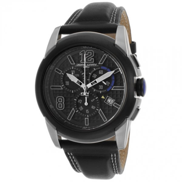 Jorg Gray Mens Jorggray Black Chronograph Watch
