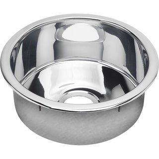 Elkay The Mystic Stainless Steel Single Bowl Dual / Universal Mount Sink