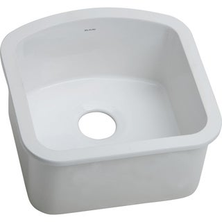 Elkay Explore Fine Fireclay Single Bowl Undermount Sink