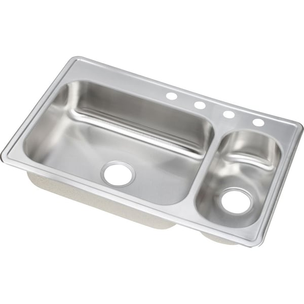Top Stainless Steel Sinks : ... Stainless Steel Double Bowl Topmount Drop-in Zero Radius Kitchen Sink
