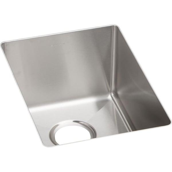Elkay Crosstown Stainless Steel Single Bowl Undermount Bar Sink ...