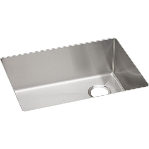 Undermount Stainless Steel Sink Single Bowl : Elkay Crosstown Stainless Steel Single Bowl Undermount Sink - 16439661 ...