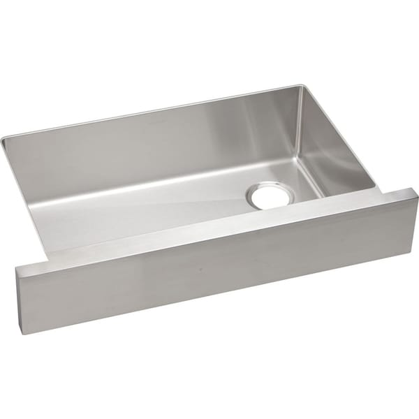 ... Crosstown Stainless Steel Single Bowl Apron Front Undermount Sink