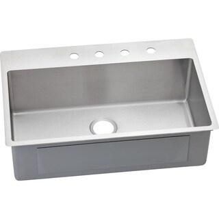 Elkay Avado Stainless Steel Single Bowl Dual / Universal Mount Sink