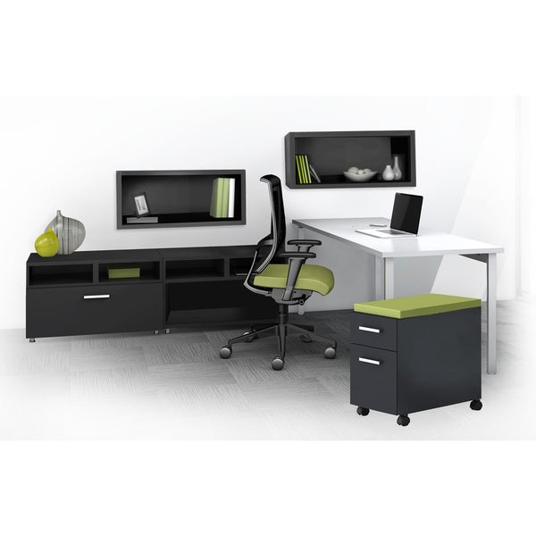 Mayline E5 Series E5k16 6 Piece Typical Office Furniture Set