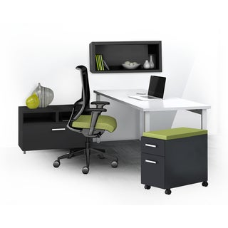 Mayline e5 Series E5K10 4-piece Typical Office Furniture Set