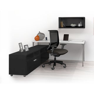 Mayline e5 Series E5K11 4-piece Typical Office Furniture Set