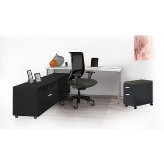 Mayline e5 Series E5K13 4-piece Typical Office Furniture Set