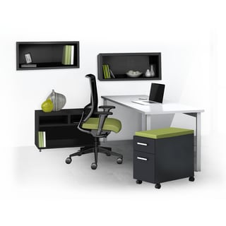 Mayline e5 Series E5K12 5-piece Typical Office Furniture Set