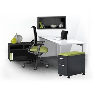 Mayline e5 Series E5K8 4-piece Typical Office Furniture Set