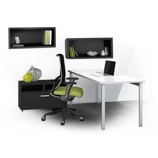 Mayline e5 Series E5K9 4-piece Typical Office Furniture Set
